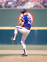 Chicago Cubs Greg Maddux(31) in action during a game from the 1988 season.  Greg Maddux played for 25 years with 4 different teams  and was inducted to the Baseball Hall of Fame in 2014.David Durochik/SportPics