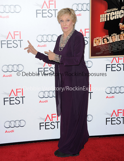Cloris Leachman at The AFI FEST 2012 Hitchcock Gala Screening held at The Grauman's Chinese Theatre in Hollywood, California on November 01,2012                                                                               © 2012 Hollywood Press Agency