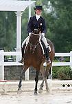 10 July 2009: Jordynn Sahagian riding Nestor during the dressage phase of the CIC 2* Maui Jim Horse Trials at Lamplight Equestrian Center in Wayne, Illinois.