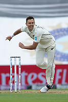 Trent Boult, New Zealand in action during India vs New Zealand, ICC World Test Championship Final Cricket at The Hampshire Bowl on 19th June 2021