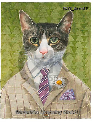 Ingrid, REALISTIC ANIMALS, REALISTISCHE TIERE, ANIMALES REALISTICOS,cat, paintings+++++,USISPROV25,#a#, EVERYDAY