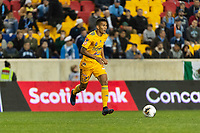 HARRISON, NJ - MARCH 11: Francisco Meza #21 of Tigres UANL during a game between Tigres UANL and NYCFC at Red Bull Arena on March 11, 2020 in Harrison, New Jersey.