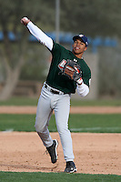January 17, 2010:  Julian Navarro (Marcopa, AZ) of the Baseball Factory Central Team during the 2010 Under Armour Pre-Season All-America Tournament at Kino Sports Complex in Tucson, AZ.  Photo By Mike Janes/Four Seam Images