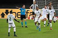 Rio de Janeiro (RJ), 20/07/2021 - BOTAFOGO-GOIÁS -  Rezende, do Goiás, comemora gol. Partida entre Botafogo e Goiás, válida pela Série B do Campeonato Brasileiro, realizada no Estádio Nilton Santos, nesta terça-feira (20).