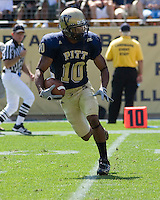 August 30, 2008: Pitt wide receiver Aundre Wright..The Bowling Green Falcons defeated the Pitt Panthers 27-17 on August 30, 2008 at Heinz Field, Pittsburgh, Pennsylvania.