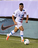 PHILADELPHIA, PA - JUNE 30: Nick Lima #2 during a game between Curaçao and USMNT at Lincoln Financial Field on June 30, 2019 in Philadelphia, Pennsylvania.