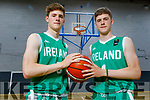 Twins Sean and Tim Pollmann-Daamen of Tralee who are called up to the Ireland U18 Basketball squad.
