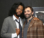 Jeremy O. Harris and Christopher Shinn attends the Vineyard Theatre Paula Vogel Playwriting Award honoring Jeremy O. Harris on October 12, 2018 at the National Arts Club in New York City.