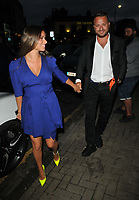 guest and Dapper Laughs (Daniel O'Reilly) at the Lit Bar launch party, Lit Bar, Lendal Terrace, Clapham, on Friday 10th September 2021 in London, England, UK. <br /> CAP/CAN<br /> ©CAN/Capital Pictures