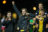 17.02.2015  Berwick Rangers v Spartans, Scottish Cup 5th Round Replay  ..................   MATCHWINNER DARREN LAVERY AND BERWICK AT END