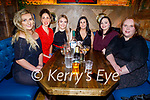 Hillary Costello, Christine Ahern, Catherine O'Halloran, Tracy Mangan, Claire McKenna and Sylvia Kerin enjoying the evening in the Mall Tavern on Friday.
