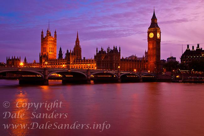 Big Ben and Parliament.
