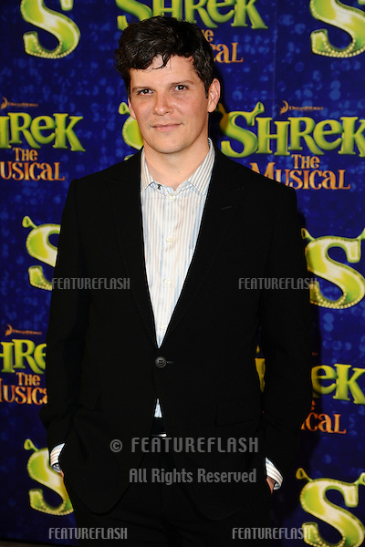 """Nigel Harmon arrives for the 1st night party of """"Shrek The Musical"""" at Somerset House, London. 14/06/2011  Picture by: Steve Vas / Featureflash"""