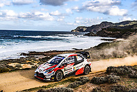 11th October 2020, Alghero, ‎Sardinia, Italy; WRC Rally of Sardinia;  OGIER SEBASTIEN finished in 3rd place