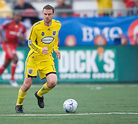 02 May 2009: Columbus Crew midfielder/forward Eddie Gaven #12 in action at BMO Field in a game between the Columbus Crew and Toronto FC. .The game ended in a 1-1 draw.