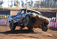 Apr 17, 2011; Surprise, AZ USA; LOORRS driver Cameron Steele (16) during round 4 at Speedworld Off Road Park. Mandatory Credit: Mark J. Rebilas-