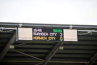 Swansea v Norwich, Liberty Stadium, Saturday 29th march 2014...<br /> <br /> <br /> <br /> Final score  3-0