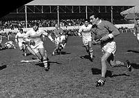 Stade Arnauné (Stade des Minimes), rue Frédéric Estèbe. 24 mai 1957. Equipe du Toulouse Olympique XIII (rugby à XIII) rencontre l'équipe de Lézignan