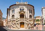 Principality of Monaco, on the French Riviera (Côte d'Azur), district Monaco-Ville: law courts | Fuerstentum Monaco, an der Côte d'Azur, Stadtteil Monaco-Ville: Palais de Justice - Justizpalast