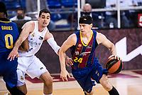 11th April 2021; Palau Blaugrana, Barcelona, Catalonia, Spain; Liga ACB Basketball, Barcelona versus Real Madrid; 24 Kuric of Barcelona during the Liga Endesa match