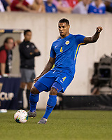PHILADELPHIA, PA - JUNE 30: Darryl Lachman #4 during a game between Curacao and USMNT at Lincoln Financial Field on June 30, 2019 in Philadelphia, Pennsylvania.