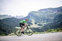 Green Jersey Wout Van Aert (BEL/Jumbo-Visma)<br /> <br /> Stage 5: Megève to Megève (154km)<br /> 72st Critérium du Dauphiné 2020 (2.UWT)<br /> <br /> ©kramon