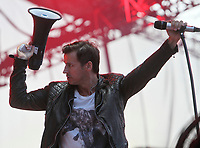 Our Lady Peace performs at the 45th Festival d'ete de Quebec on the Plains of Abraham in Quebec city Thursday July 12, 2012. The Festival d'ete de Quebec is Canada's largest music festival with more than 1000 artists and close to 300 shows over 11 days.