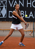 07-08-13, Netherlands, Rotterdam,  TV Victoria, Tennis, NJK 2013, National Junior Tennis Championships 2013, Savannah Sendar<br /> <br /> <br /> Photo: Henk Koster