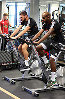 Pictured L-R: Angel Rangel and Dwight Tiendalli Sunday 28 June 2015<br />