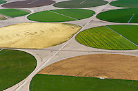 San Luis Valley crop circles.