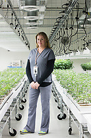 Brooke Charron is Director of Human Resources at Garden Remedies, a medical cannabis producer, at the Garden Remedies growing and production facility in Fitchburg, Massachusetts, USA, on Fri., Feb. 22, 2019.