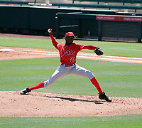 Jean Carlos Lucas - Los Angeles Angels 2019 extended spring training (Bill Mitchell)