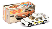 BNPS.co.uk (01202 558833)<br /> Pic: Vectis/BNPS<br /> <br /> Pictured: Matchbox Superfast 8d Rover 3500 Police Car<br /> <br /> One man's vast collection of model cars amassed over a lifetime has sold at auction for an incredible £250,000.<br /> <br /> Simon Hope, 68, has been collecting matchbox models since he was a small child and has bought over 4,000 over the past six decades.<br /> <br /> His hobby has cost him thousands of pounds and at and engulfed a huge slice of his life but he has now decided to part with the toys