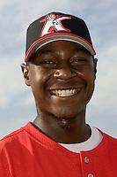 Kannapolis infielder Chris Carter (#35)