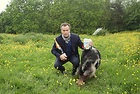 Saturday 24 May 2014, Hay on Wye UK<br /> Pictured: Edward St Aubyn who has won the 15th Bollinger Everyman Wodehouse Prize for Comic Fiction, with his novel Lost For Words, a satire on literary prizes.<br /> Re: The Telegraph Hay Festival, Hay on Wye, Powys, Wales UK.