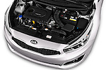 Car Stock 2016 KIA Ceed_SW 5 Door Wagon Engine  high angle detail view