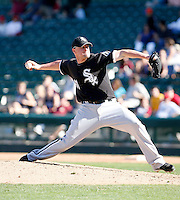 Jon Link  -  Chicago White Sox - 2009 spring training.Photo by:  Bill Mitchell/Four Seam Images