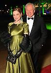 Becca Cason Thrash and John Thrash at the Discovery Green Gala Saturday Feb 25,2012. (Dave Rossman/For the Chronicle)