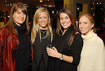 From left: Hattie Parker, Monica Bickers, Claire Moffett and Amy Urquhart at the Les Provinciales Design for a Cause event at Roche Bobois Thursday Dec. 10,2009.(Dave Rossman/For the Chronicle)