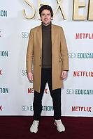 "Greg James<br /> arriving for the ""Sex Education"" season 2 launch at Genesis Cinema Mile End Road, London.<br /> <br /> ©Ash Knotek  D3547 08/01/2020"