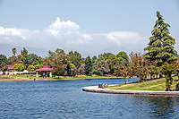 A nice summer day at Lake Balboa, Encino, CA.