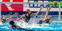 10 RUS SOBOLEVA Evgeniia Russia (right)<br /> <br /> Budapest 21/01/2020 Duna Arena <br /> Russia (white caps) Vs. Italy (blue caps) Quarter Final women<br /> XXXIV LEN European Water Polo Championships 2020<br /> Photo  Giorgio Scala / Deepbluemedia / Insidefoto