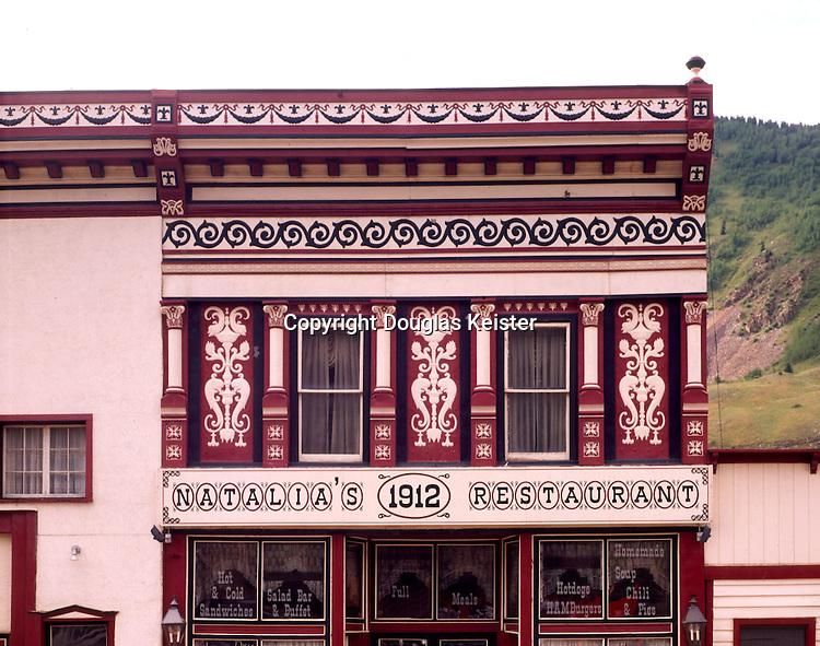 Natalia's 1912 Restaurant.1161 Blair St at 12th.Silverton, CO