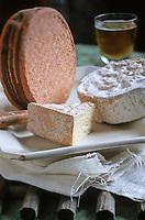 Europe/France/Normandie/14/Calvados: Fromages du Pays d'Auge Camembert, Livarot, Pont l'Evèque AOC