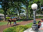 The scene on Delaware Handicap Day at Delaware Park in Stanton, Delware on July 16, 2011.