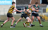 Tuesday 10th March 2020 | Campbell College vs RBAI <br /> <br /> Bryn Ward during the 2020 Medallion Shield Final between Campbell College and RBAI at Kingspan Stadium, Ravenhill Park, Belfast, Northern Ireland. Photo by John Dickson / DICKSONDIGITAL