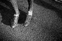 post-race shoes<br /> <br /> Azencross Loenhout 2014