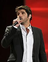 "Patrick Fiori performs at the ""Paris-Quebec"" show of the 44th Festival d'ete de Quebec on the Plains of Abraham in Quebec city Thursday July 7, 2011."
