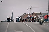 peloton with 2 more laps to go<br /> <br /> 77th Euro Metropole Tour 2017<br /> La Louvière > Tournai (BEL): 188.6 km