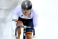 Patrick Clancy competes in the Men Elite Sprint during the 2020 Vantage Elite and U19 Track Cycling National Championships at the Avantidrome in Cambridge, New Zealand on Friday, 24 January 2020. ( Mandatory Photo Credit: Dianne Manson )